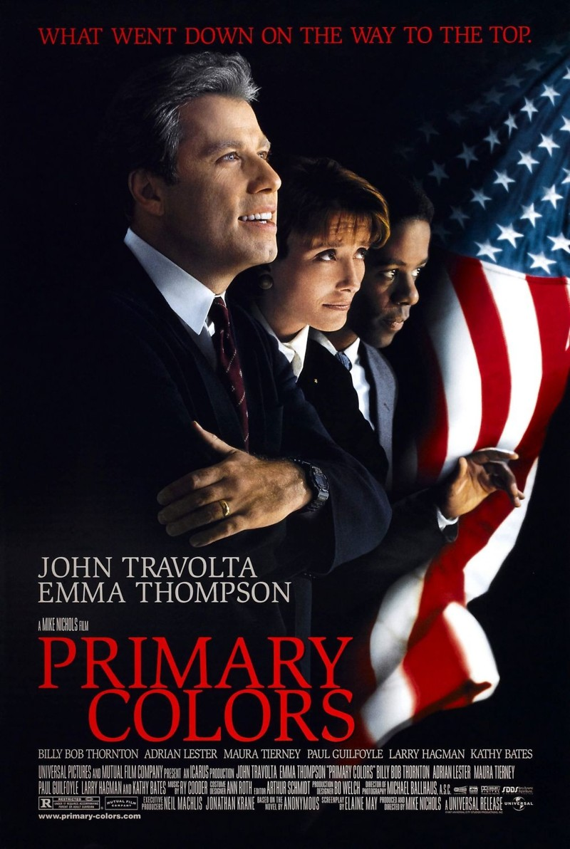 primary colors film essay Support each point by explaining an example from the film and how it supports need help for homework have to write a essay on the movie primary colors.