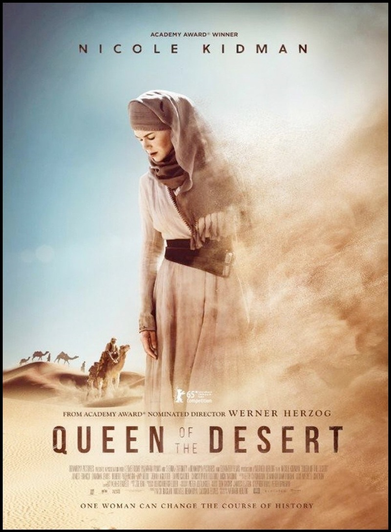Berlin 2015: Queen of the Desert review – a towering
