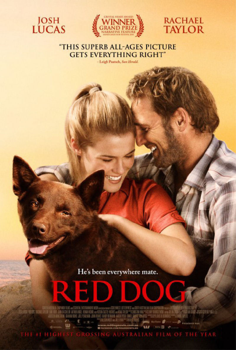 Dvd Red Dog Australia