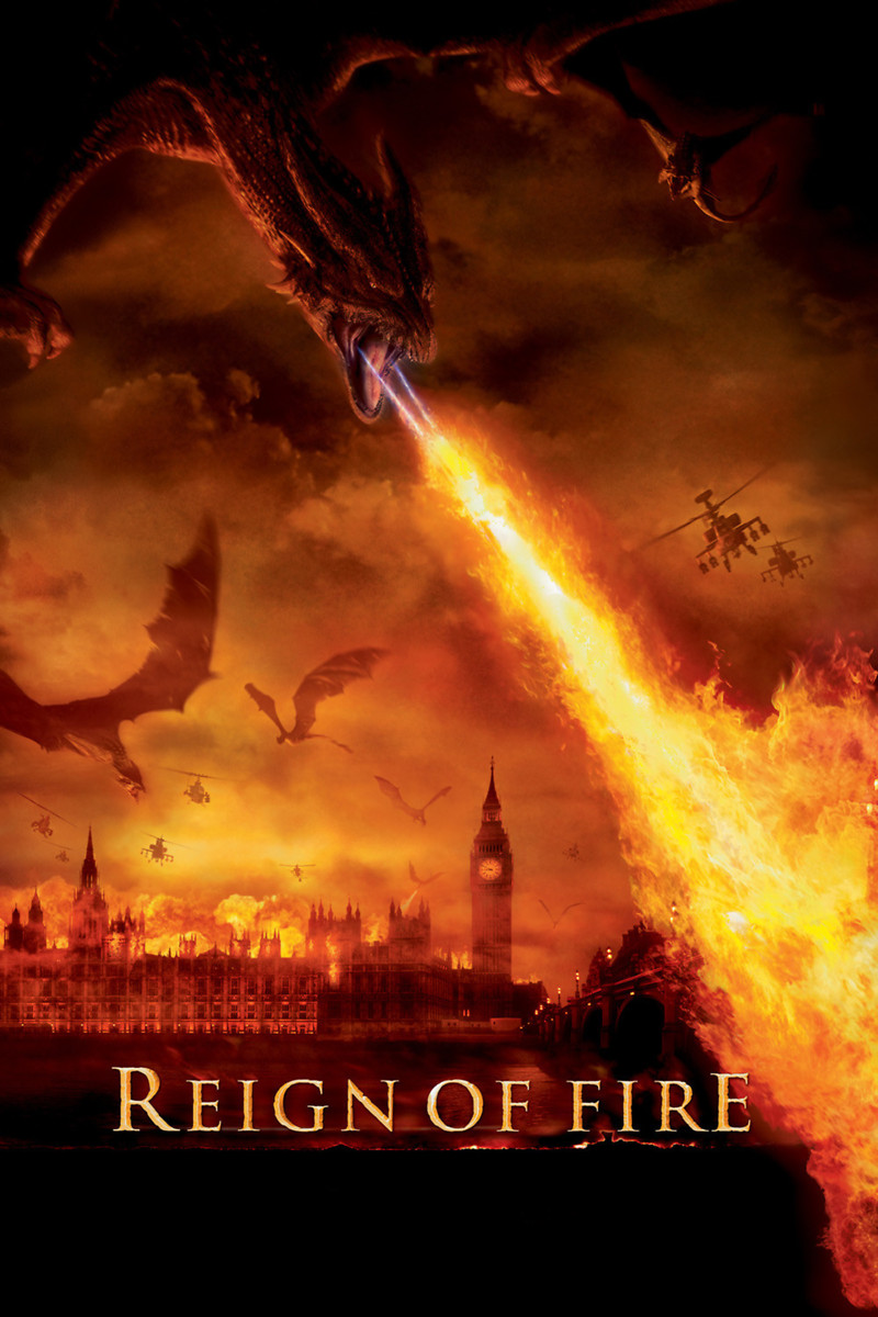 Reign of Fire DVD Rele... Christian Bale Imdb