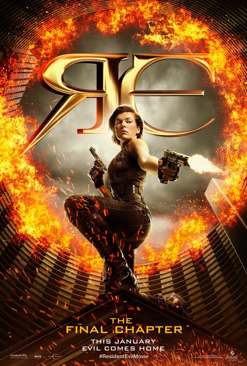 Resident Evil The Final Chapter Dvd Release Date May 16 2017