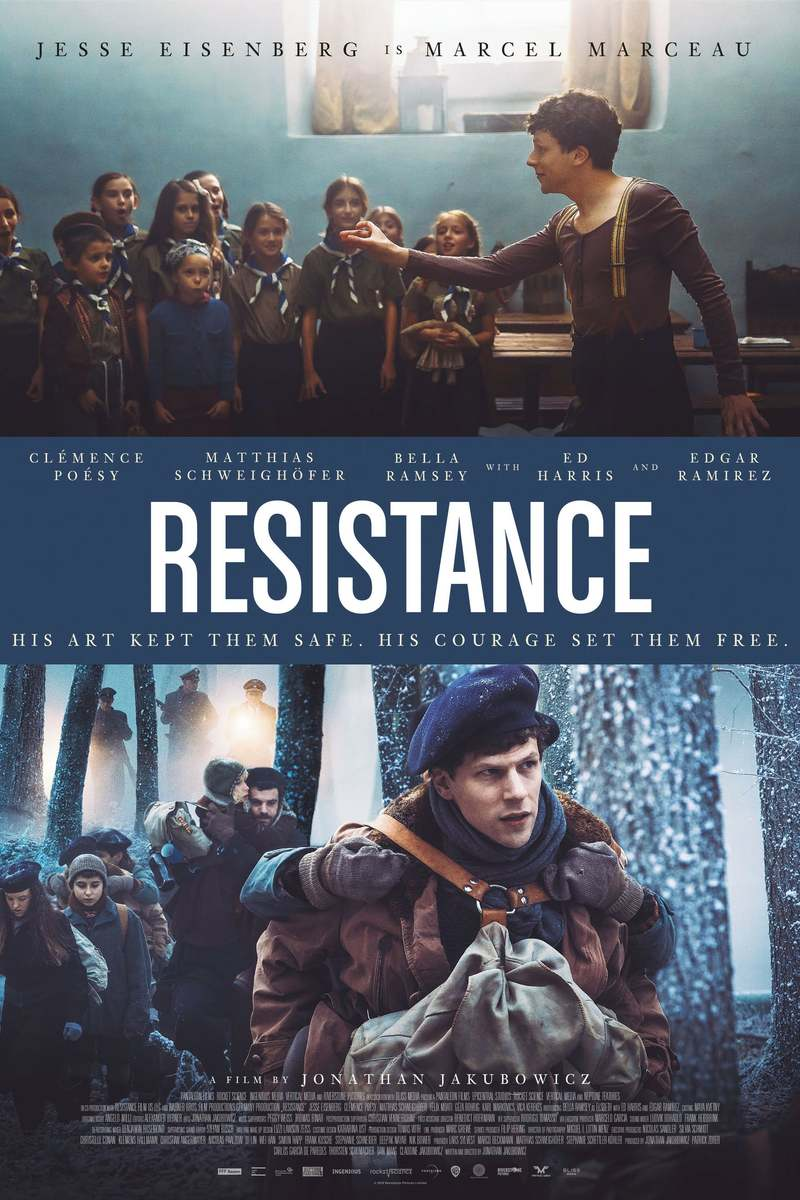 July Movie Releases: Resistance DVD Release Date July 21, 2020