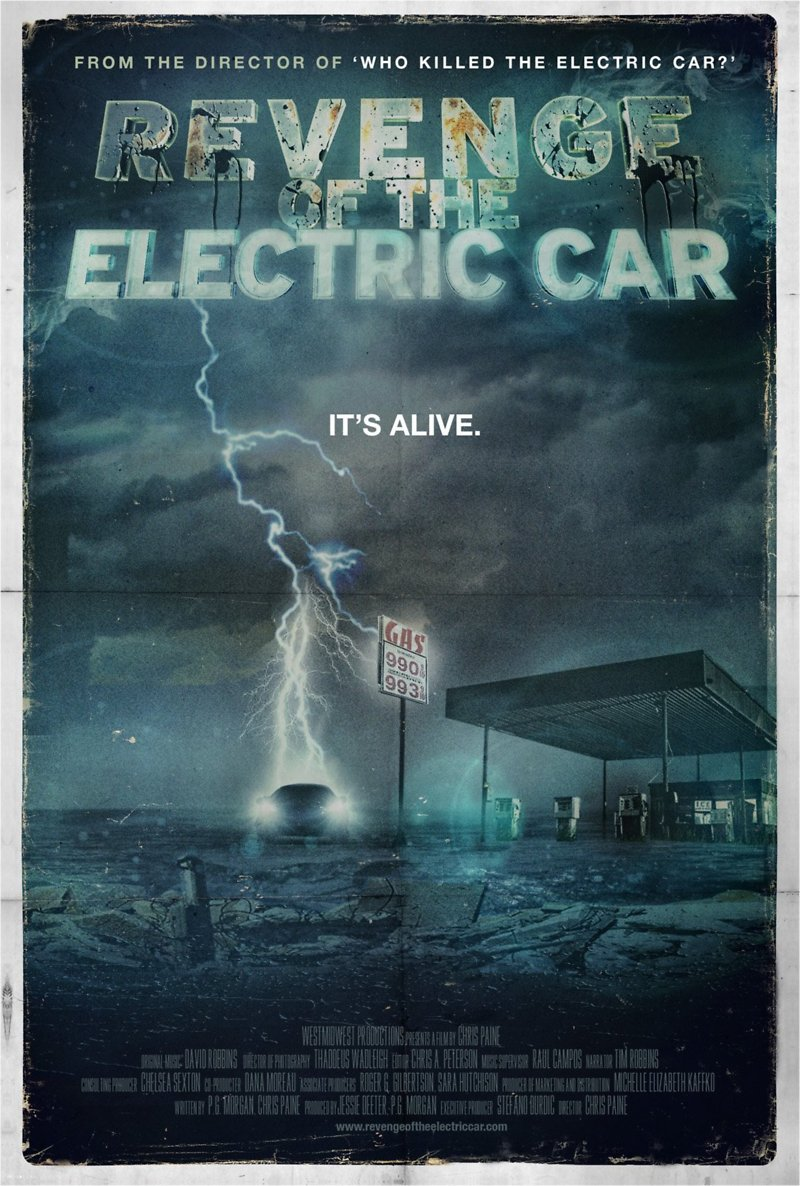Revenge Of The Electric Car Dvd