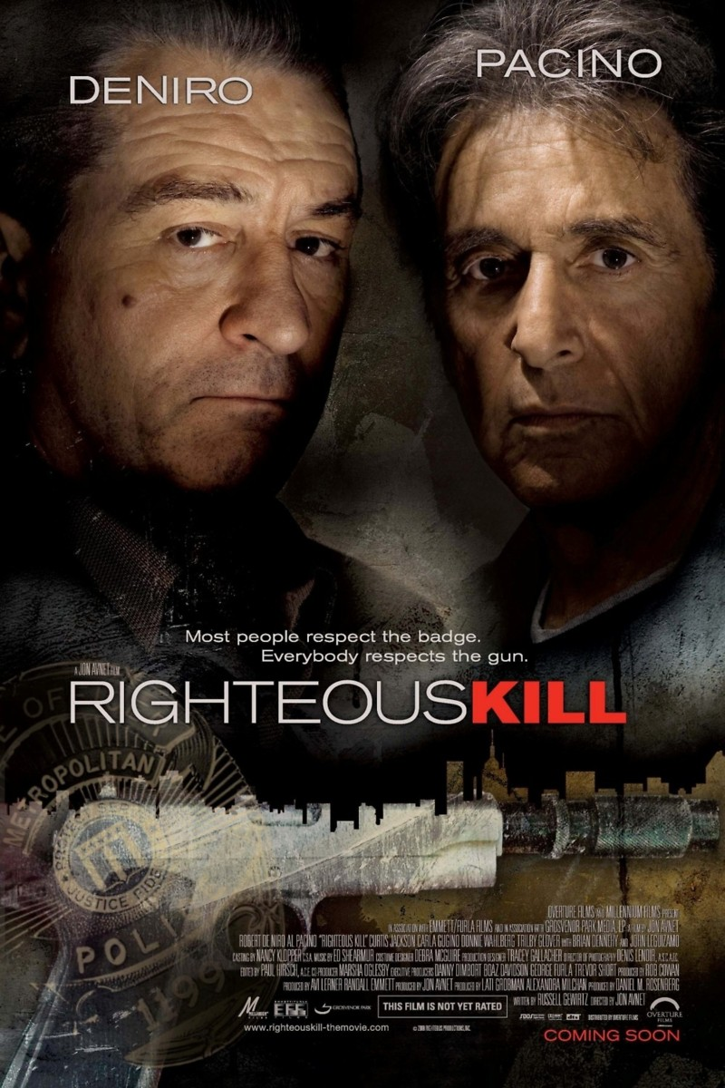 righteous kill dvd release date january 6 2009