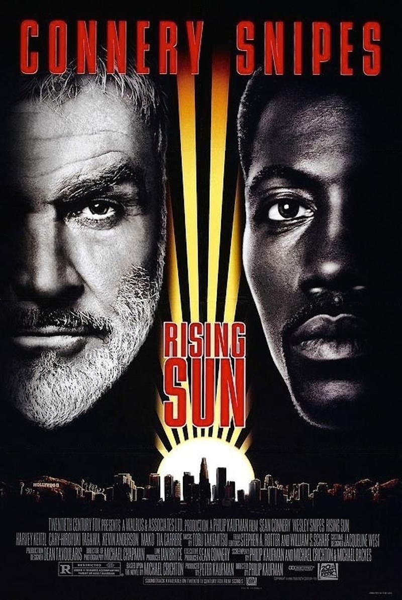 rising sun dvd release date