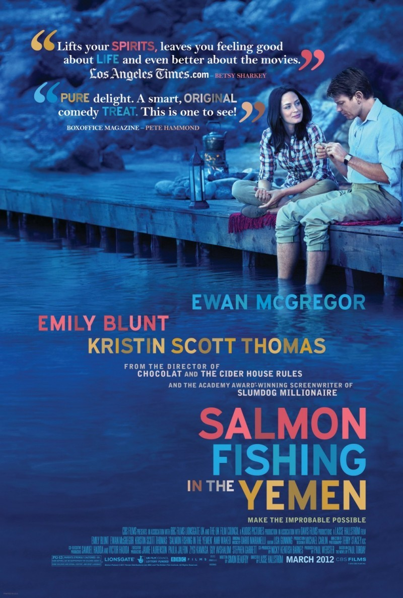 Salmon Fishing in the Yemen DVD Release Date