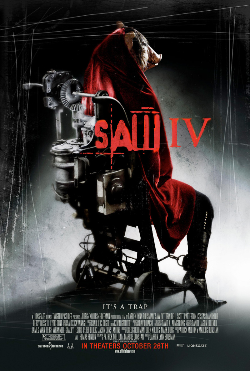 saw iv dvd release date january 22 2008