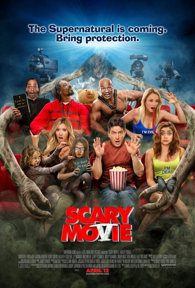Scary Movie 5 Dvd Release Date August 20 2013