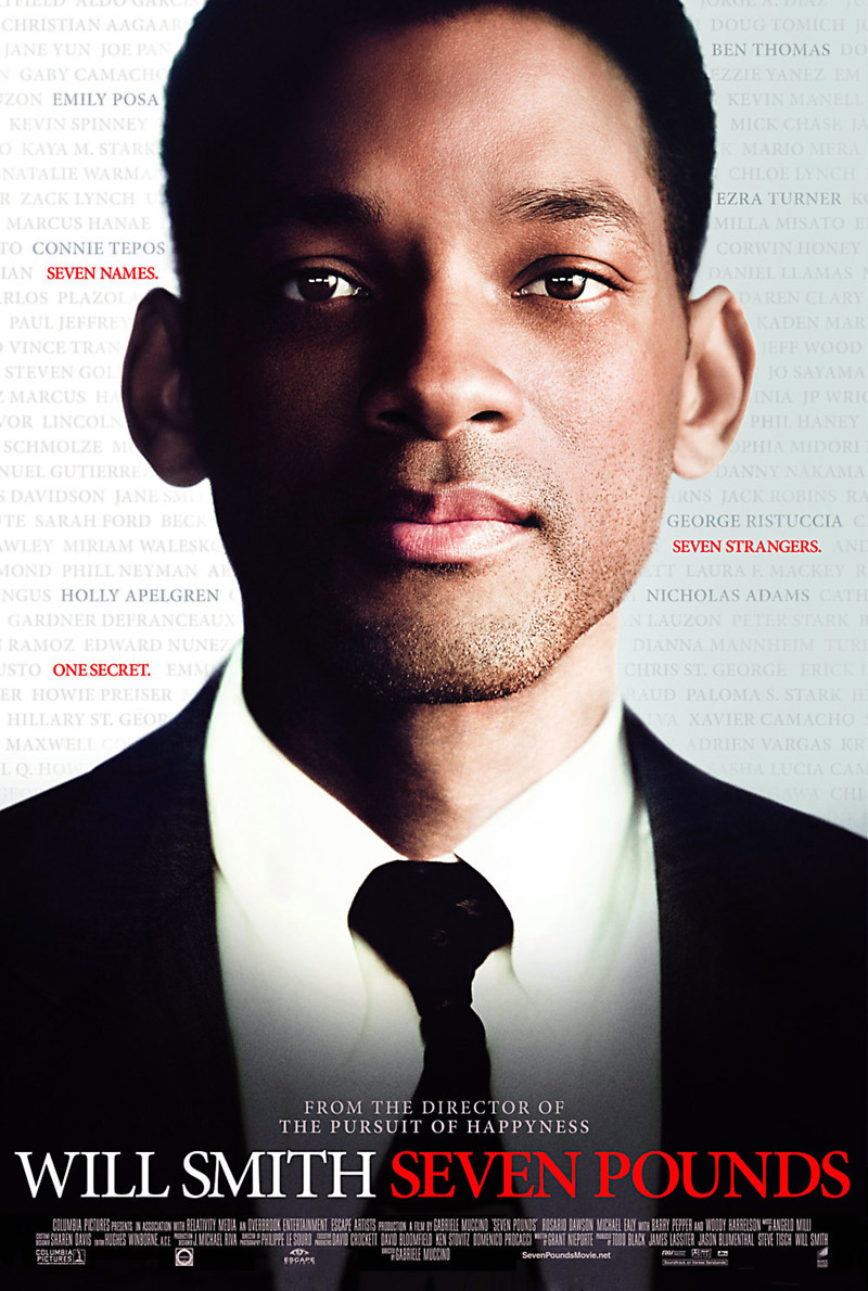 Seven Pounds DVD Release Date March 31, 2009