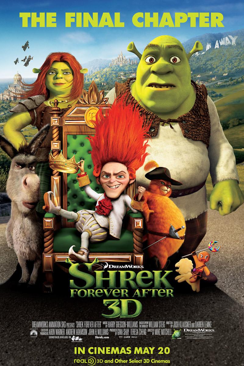 Shrek Forever After DVD Release Date December 7, 2010