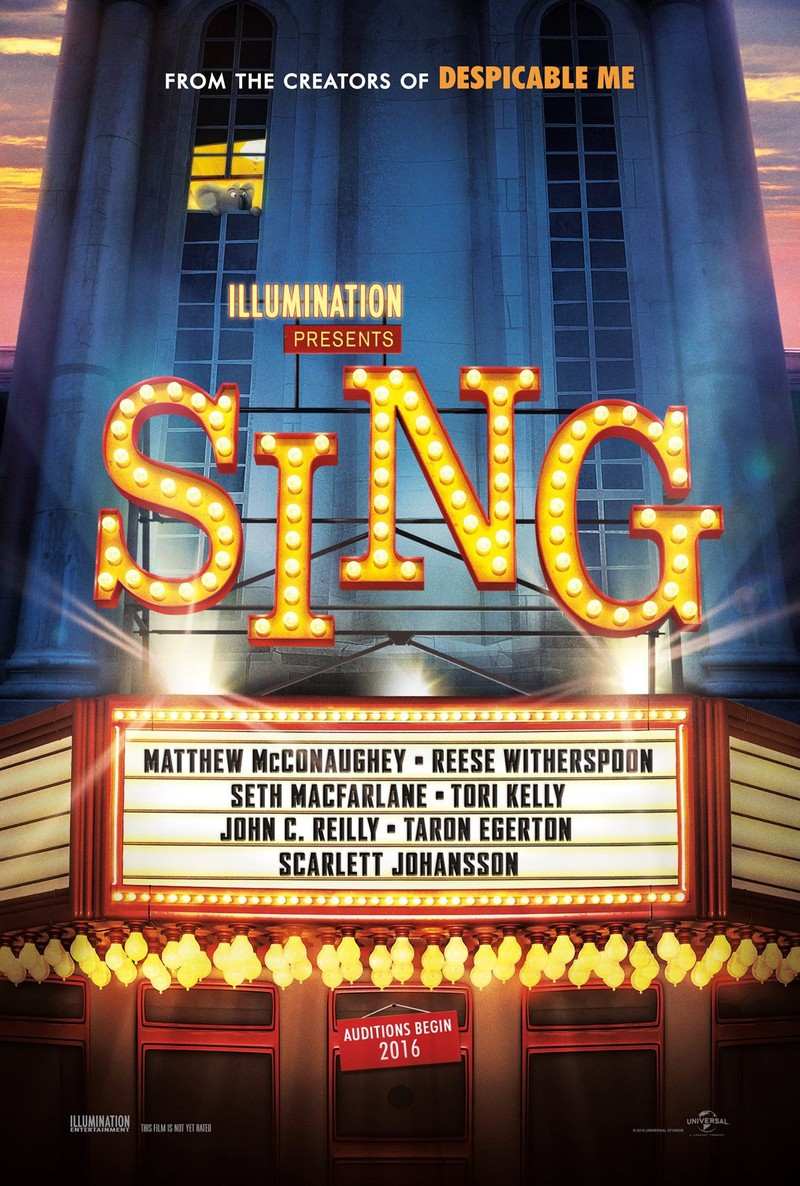 sing dvd release date march 21 2017
