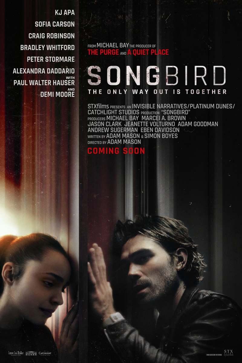 Songbird DVD Release Date March 16, 2021