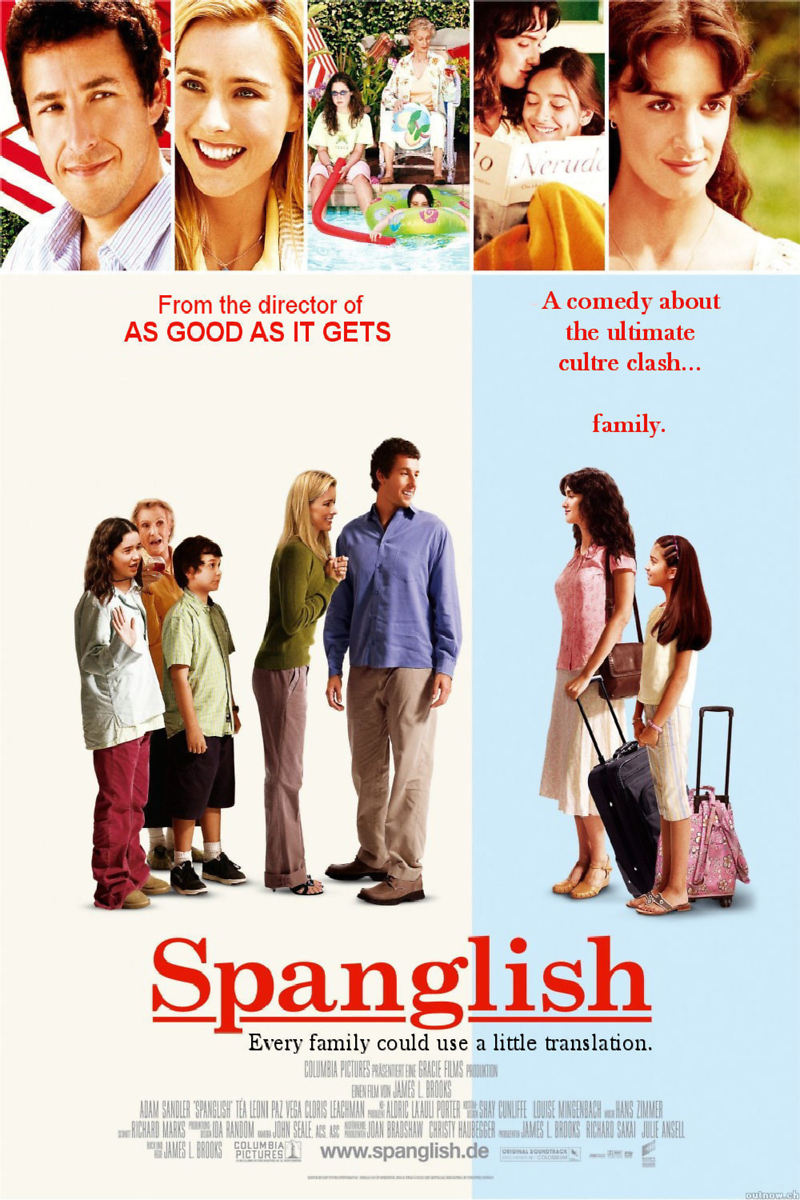 Spanglish DVD Release Date April 5, 2005