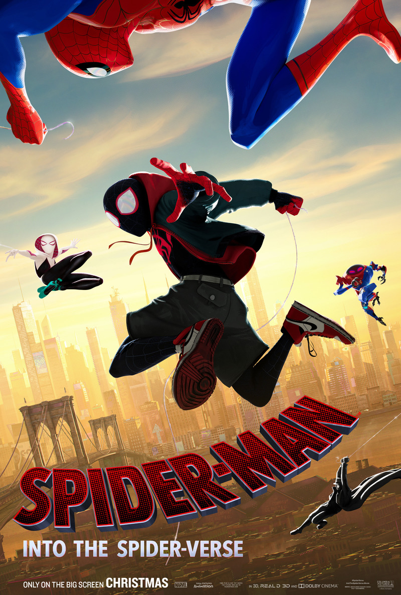 Spider Man Into The Spider Verse Dvd Release Date March 19 2019