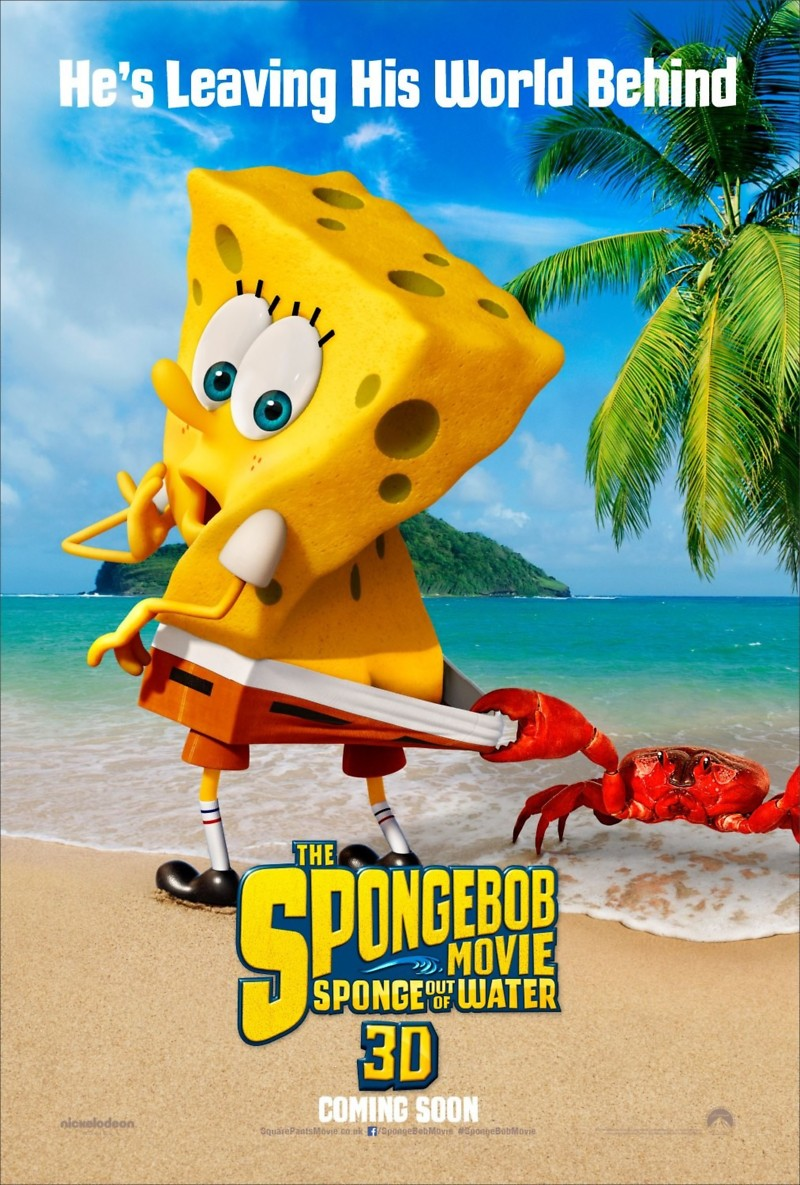 spongebob squarepants 2 sponge out of water - Spongbob 2