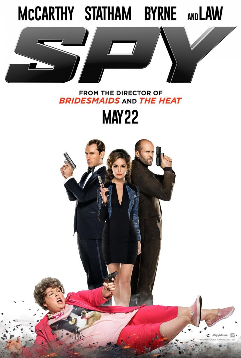 Spy DVD Release Date September 29, 2015