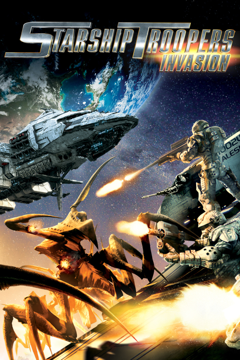 Starship Troopers: Invasion DVD - 1120.1KB