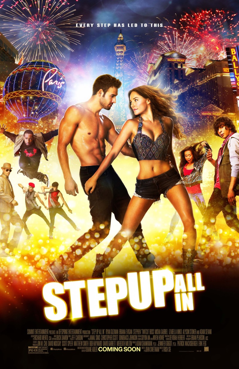 Step Up 5: All In DVD Release Date November 4, 2014