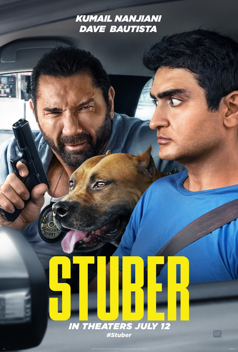 Stuber DVD Release Date October 15, 2019