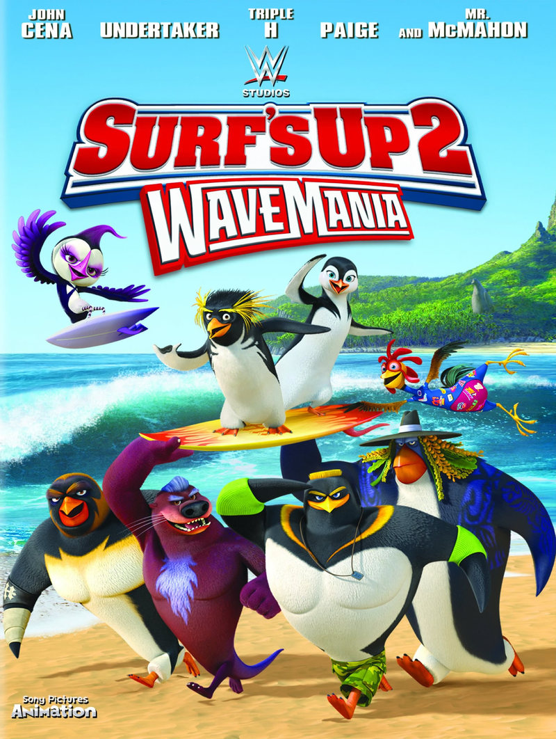 Surfs Up 2 WaveMania DVD Release Date January 17 2017