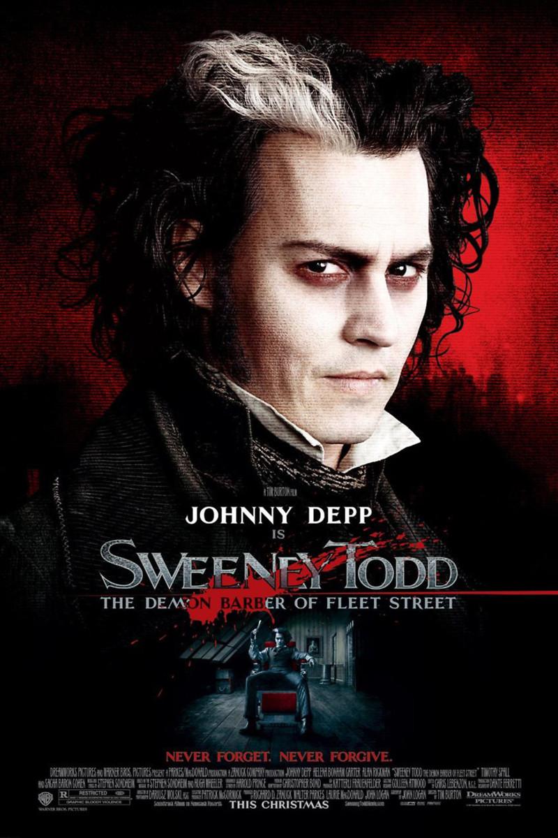Sweeney Todd: The Demon Barber of Fleet Street DVD Release ...