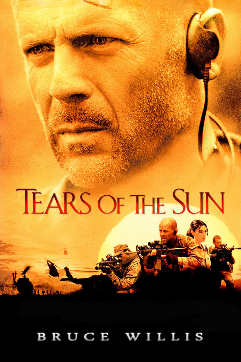 Tears of the Sun DVD Release Date June 10, 2003 Bruce Willis Movies List