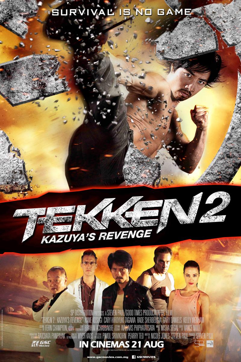 Tekken: Kazuya's Revenge DVD Release Date August 12, 2014