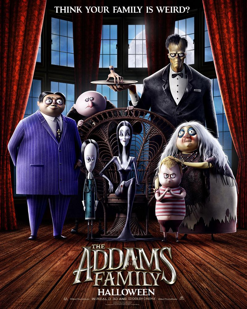 adams family 2020 cast