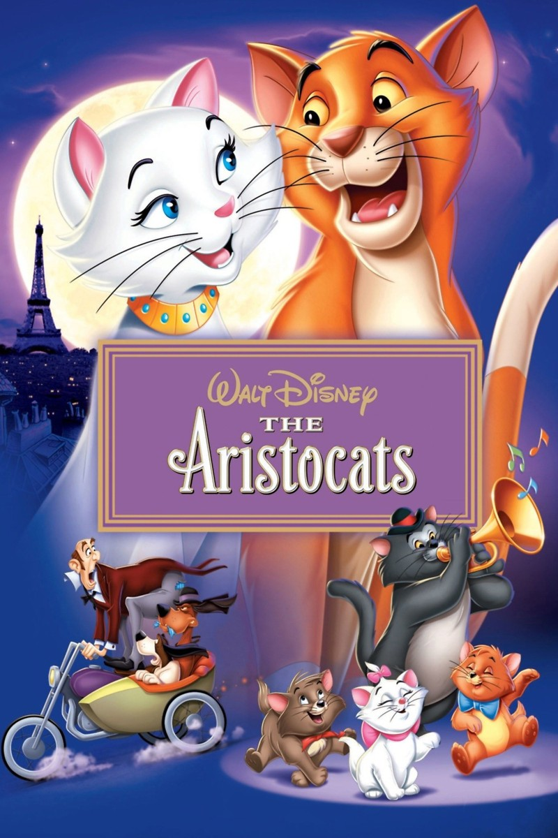 Image result for THE ARISTOCATS ( 1970 ) POSTER