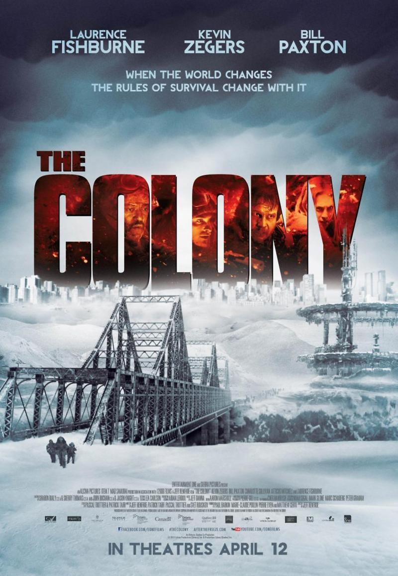 The Colony DVD Release Date October 15, 2013