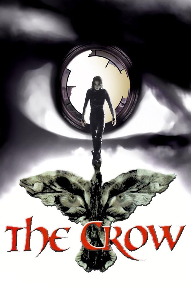 Αποτέλεσμα εικόνας για the crow 1994 poster