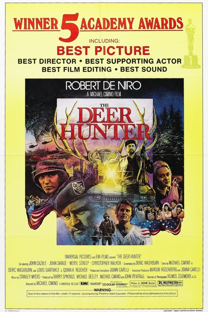 the important aspects of the movie the deer hunter Both movies vacuumed up oscar nominations—the deer hunter nine, coming   or is he the guy who's more sensitive and knows how to use other parts of himself , like  in the third part, michael, the main character, is back home in clairton,.