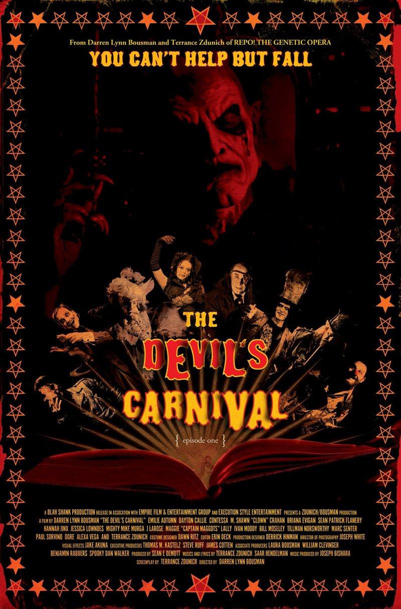 the devils carnival dvd release date