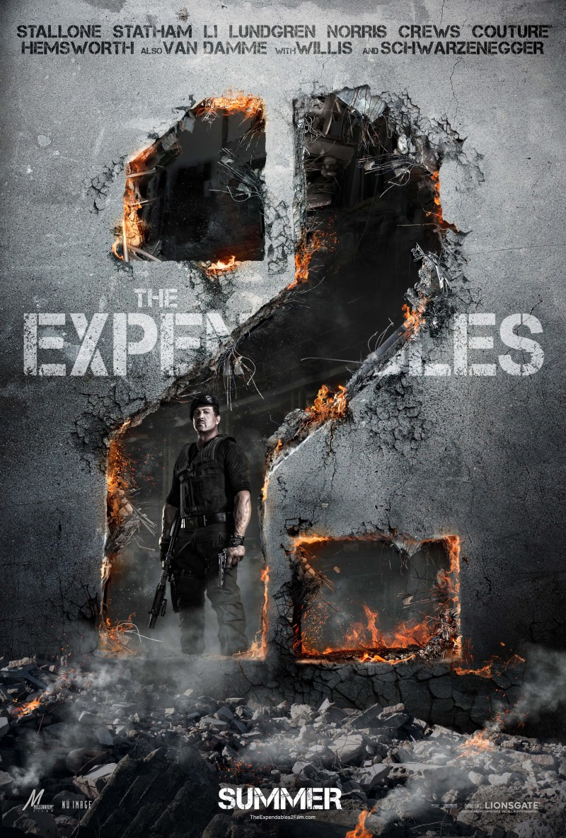 The Expendables 2 DVD Release Date November 20, 2012