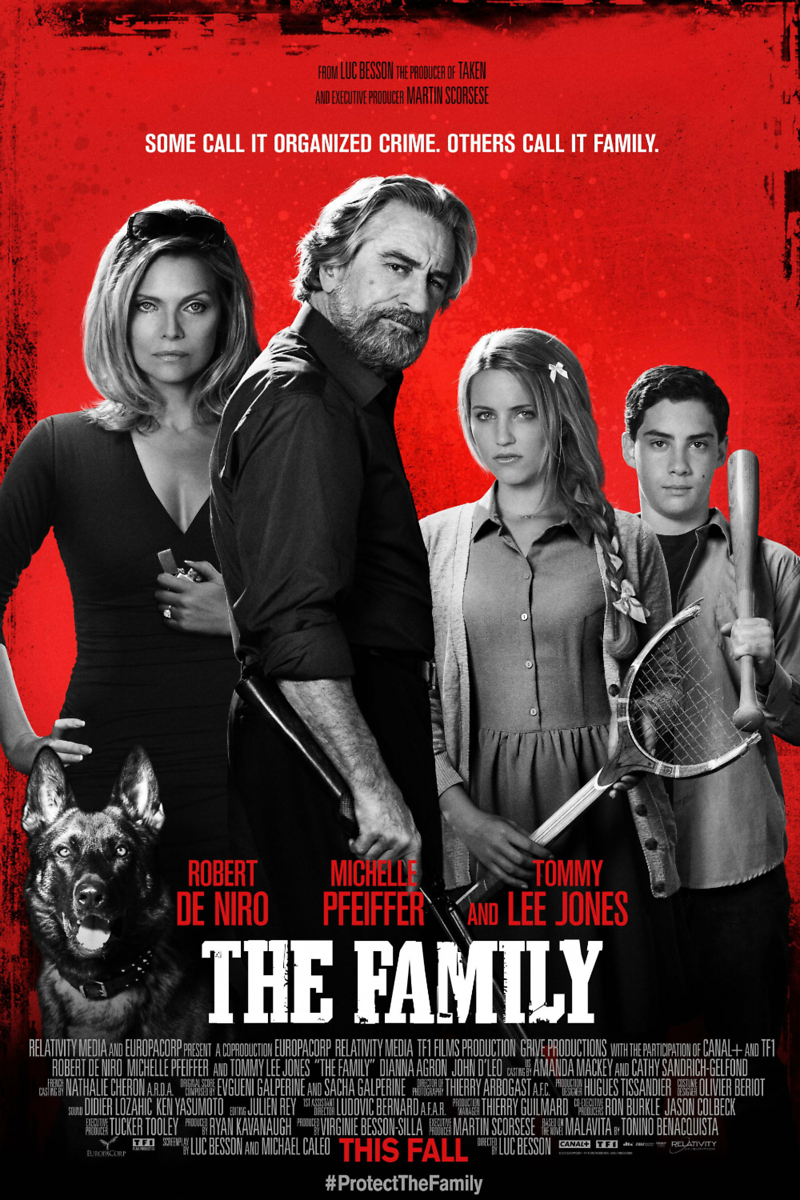 The Family DVD Release Date December 17, 2013