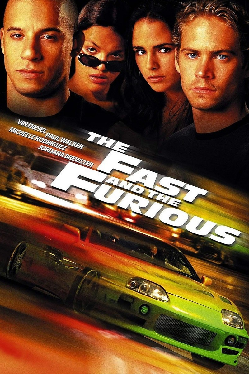 The Fast and the Furious DVD Release Date January 2, 2002