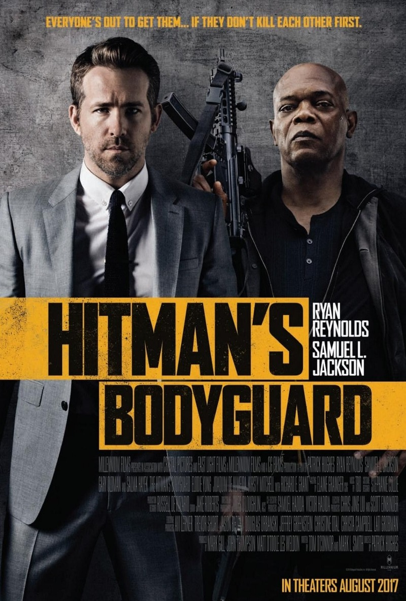 The Hitman's Bodyguard 2017 WEBRip 720p 990MB Dual Audio [Hindi (Cleaned) – English 2.0] ESubs MKV