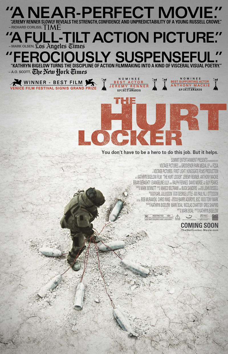 the hurt locker dvd release date january 12 2010