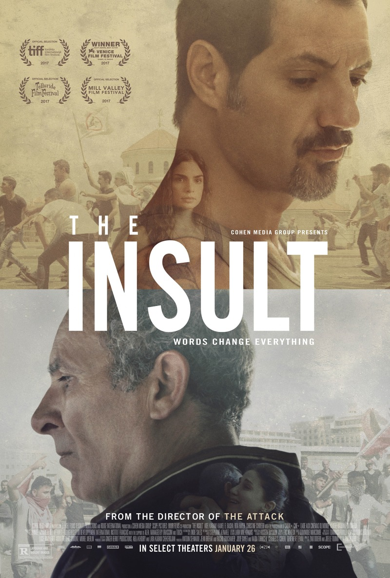 Image result for THE INSULT ( 2017 ) POSTER