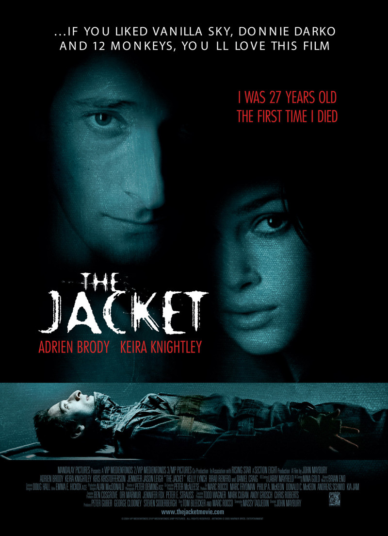 The Jacket DVD Release Date June 21, 2005
