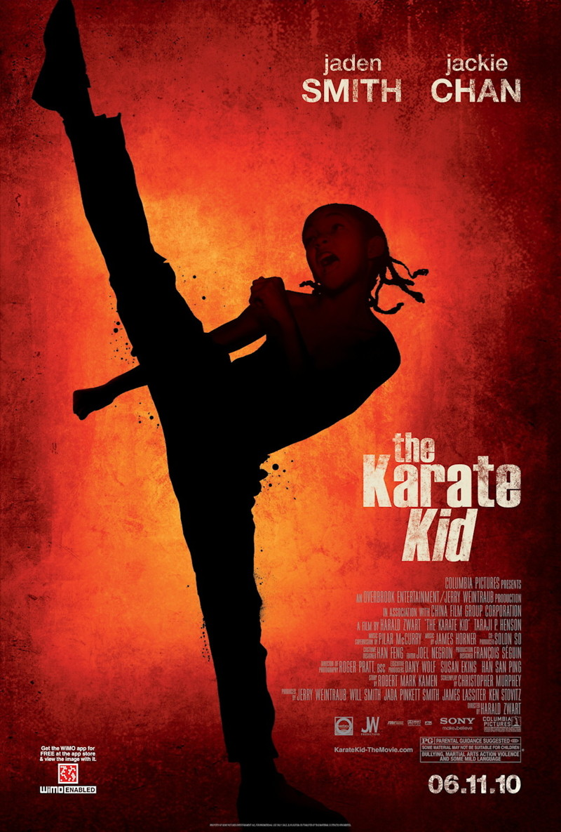 the karate kid dvd release date october 5 2010. Black Bedroom Furniture Sets. Home Design Ideas
