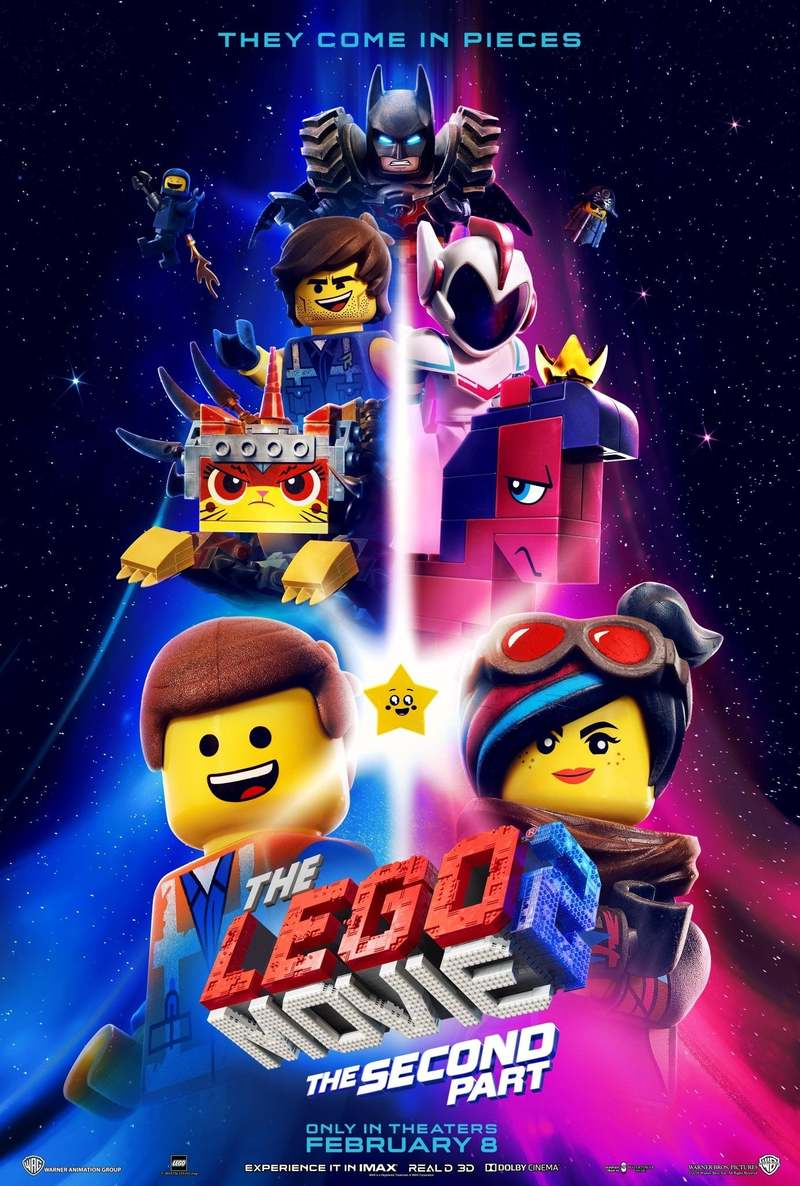 The Lego Movie 2 The Second Part Dvd Release Date May 7 2019