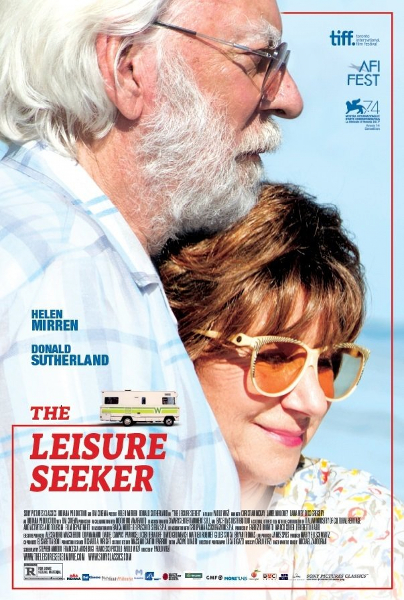 Image result for THE LEISURE SEEKERS dvd