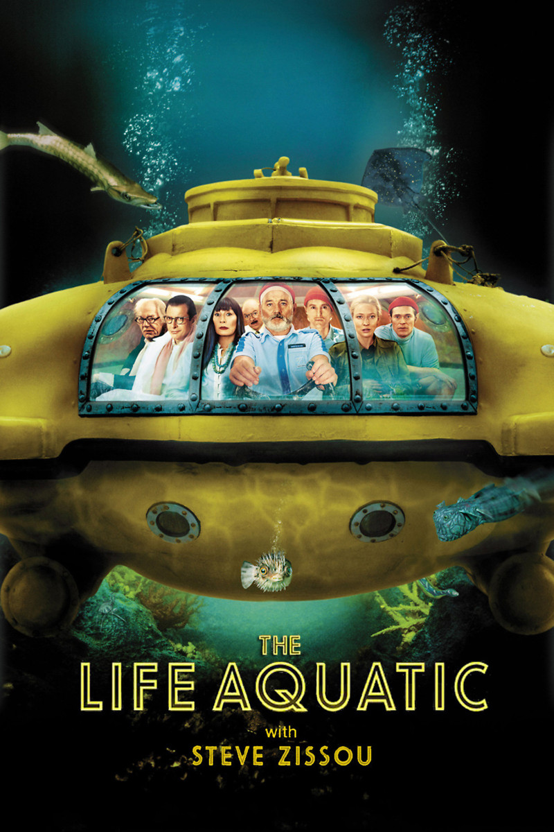The Life Aquatic with Steve Zissou DVD Release Date May 10 ...