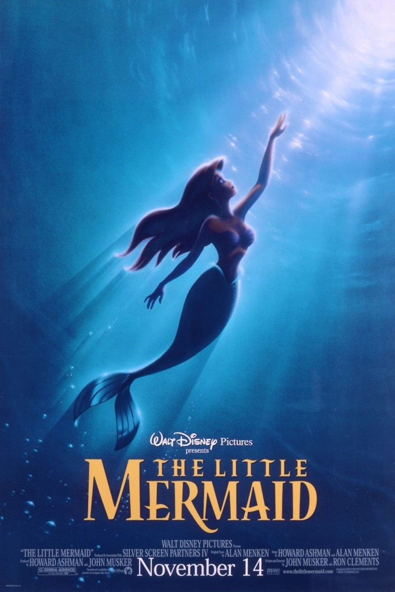 Ariel little mermaid movie can suggest