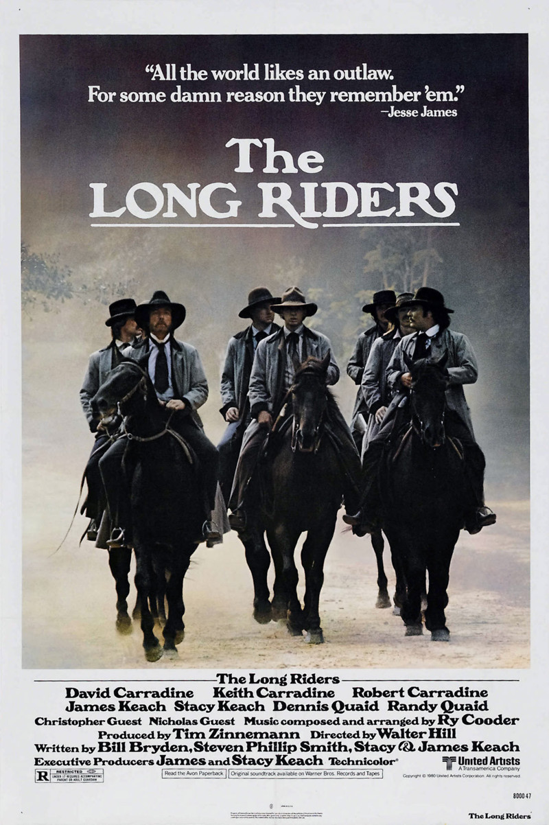 The Long Riders DVD Re...