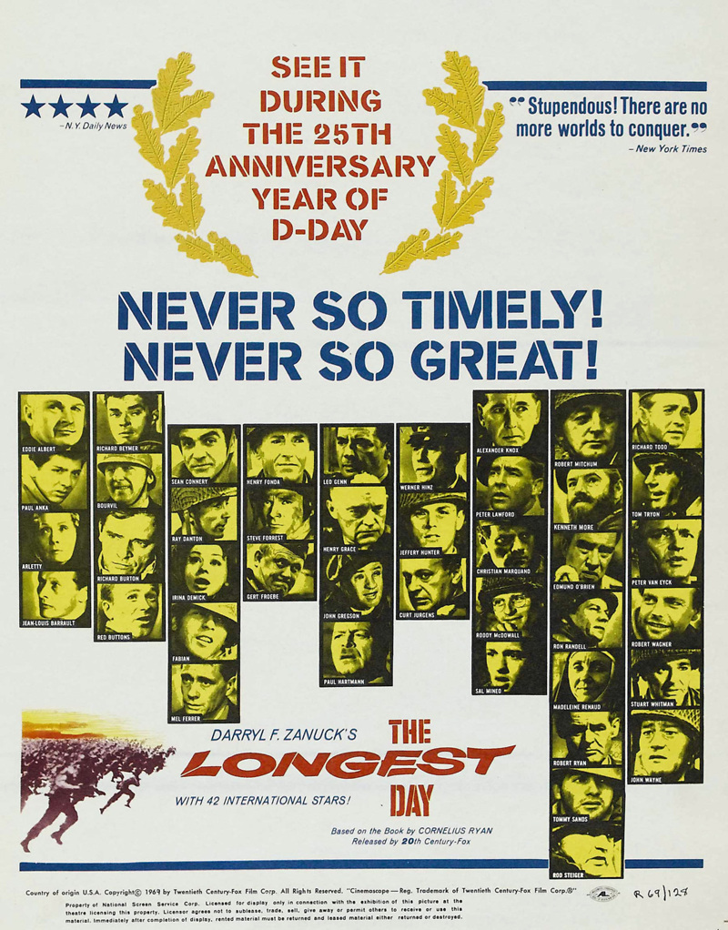 The Longest Day DVD Release Date