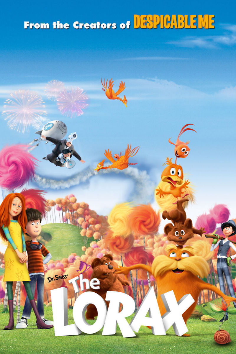 The Lorax Dvd Release Date August 7 2012