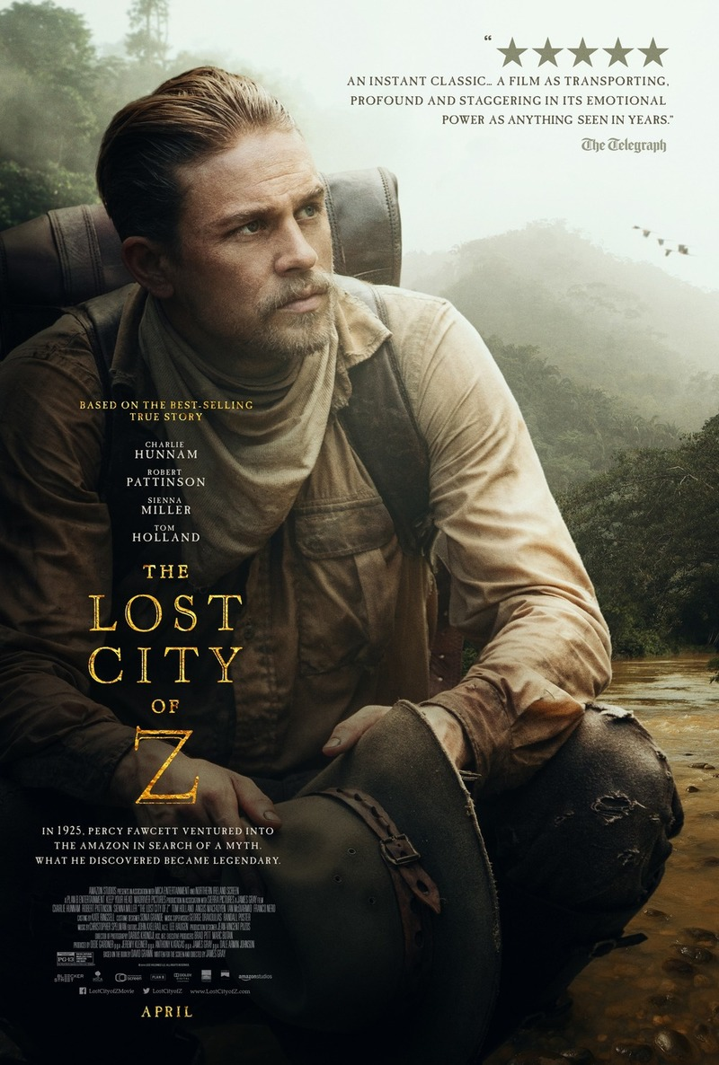 The Lost City of Z DVD Release Date July 11, 2017
