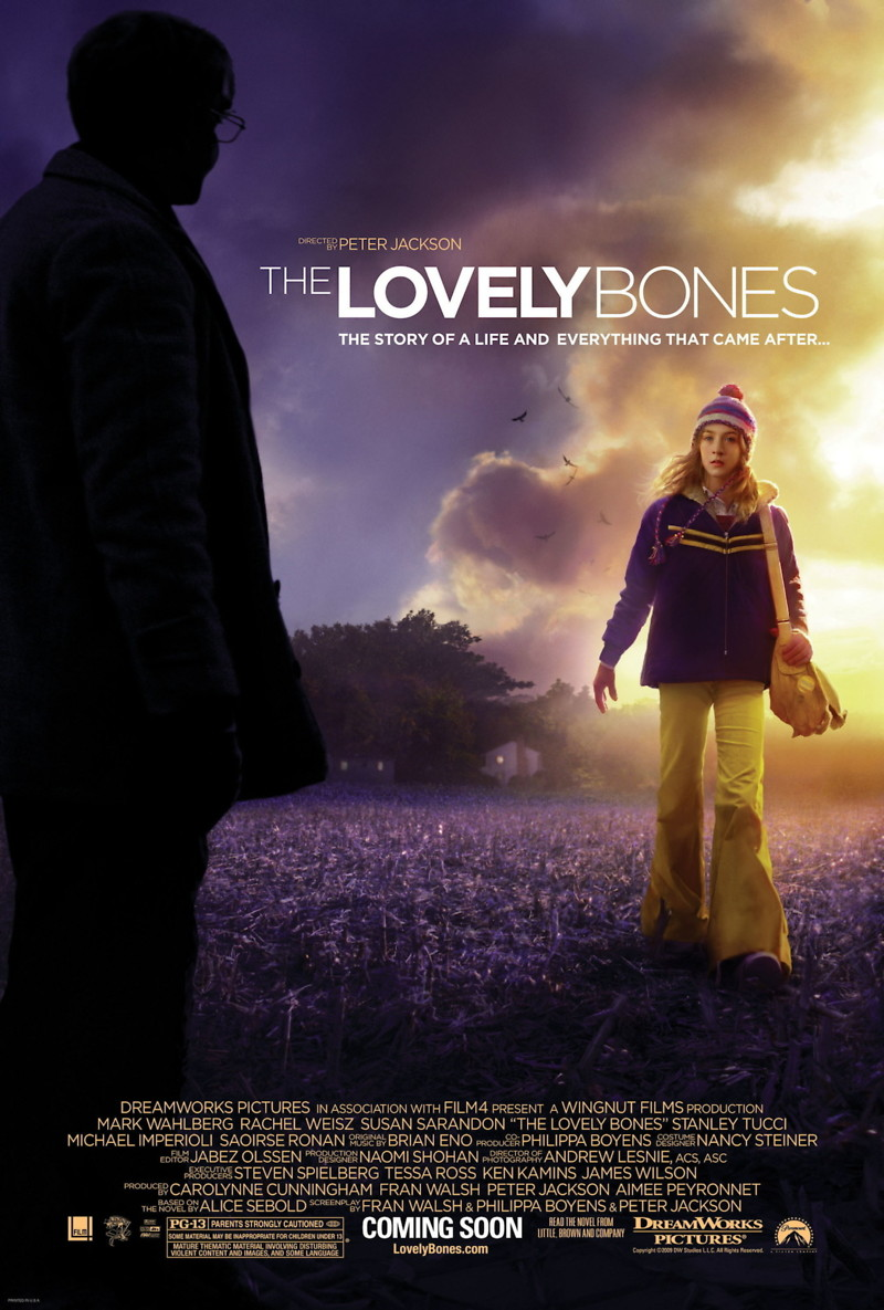 the lovely bones Suzanne'susie' salmon is the main character in the lovely bones she is murdered in the first chapter in the novel and the film she is raped and killed by mr harvey.